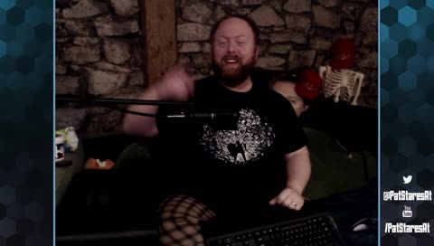 Pat: Woolie has lost his godamned mind