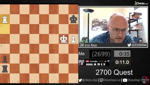 It's over! Jesse has finally achieved 2700 Blitz!