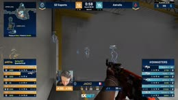 huNter- - 1vs2 clutch (T - pre-plant situation) to keep G2 in contention for Nuke