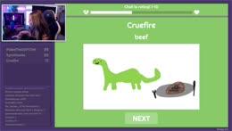 it's not technically beef, it's dinosaur