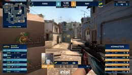 FURIA get 2 Zeus kills (arT, KSCERATO) only to receive the knife treatment from s1mple (arT) - 1/2