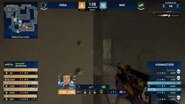 KSCERATO - flying Knife kill around the corner on Perfecto (4vs1 situation - Connector location)