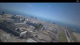 5G Ron test fly landing!! w/ Ron Felix Drake