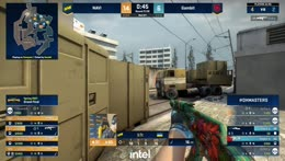 Hobbit - 4 kills (2 M4A4 HS, Famas, AK HS) on the bombsite B defense to turn a 2vs4 situation