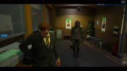 Man attempts to Rob Fleeca Hostage MID HEIST
