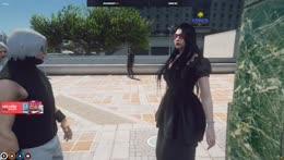 Cyr and Ramee meet a Wizard