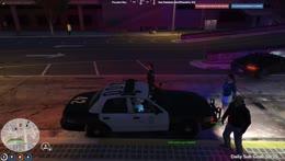 The Anbu Black Cocks take cop car for a joy ride -NoPixel | Emma Natt