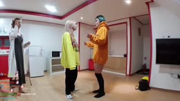 Hachu tries Yuggies dance