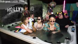 poki and lily 2 girls 1 tub