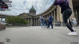 Селфи у Казанского собора 2/Х - Welcome to St. Petersburg 16/05/21