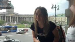 Языкастое Селфи на память LUL - Welcome to St. Petersburg 16/05/21