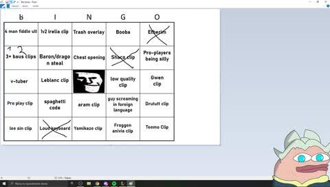 Shynapse bingo