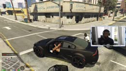 Car flipped!