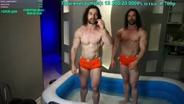 jumping jacks in hot tub