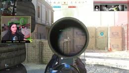 scoped in
