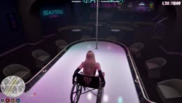 can i poledance in a wheelchair? (3.0 #11)