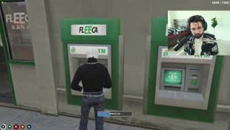 Cyr looks at his bank account