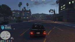 Randy heard a random voice during chase…