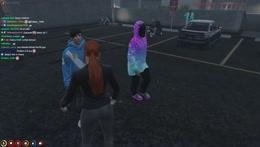 Minx meets Burn (Sasuke) in GTA RP