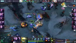 Faith_bian catches Arteezy and Abed with Berserker's Call to cap off PSG.LGD's 3-0 sweep over EG