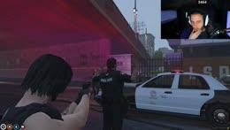 stealing a cop car LUL