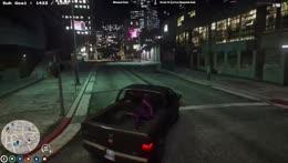 dumbass put down outside PD