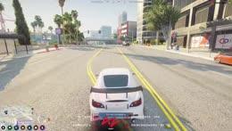 dumba** drift pass cops