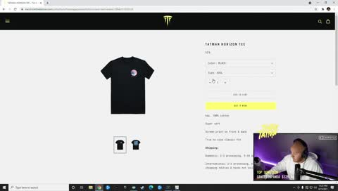 Sold out of fat sizes... 5 Minutes after merch droppped LUL