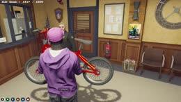 Mandos bike goodbye