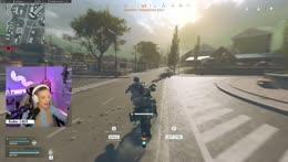 Nat using new motorbike KEKW