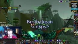 bean on lock druid vs hunter druid