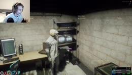 xqc on not using meta surrounding the yellow laptop vaultroom