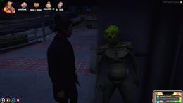 Buddha sticks an Alien on Ramee