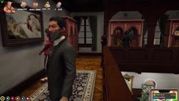 Mr K inside Saab's room KEKW