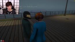 Sensei Randy trains Yuno for the lower Vault hack