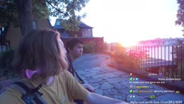 sunset date with chat