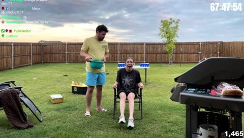 Emily Ice Bucket Challenge COMPLETE