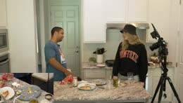Nick shows his appreciation to Malena