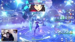 Ayaka disintegrates Maguu Kenki