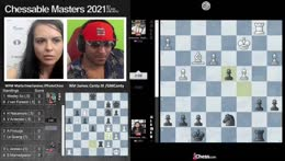 Canty receiving ELO from Magnus Carlsen