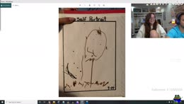 5 y/o Mizkif draws Asmongold