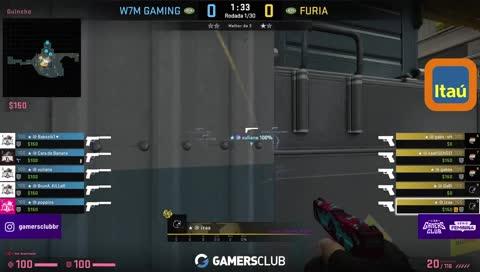 4K cara de banana contra FURIA na Nuke   draft5.gg