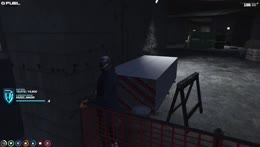 Randy POV with barriers