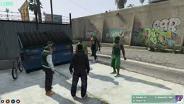 Blocks front their loot at the hood roundtable