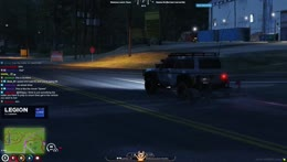 Car mounts trailer