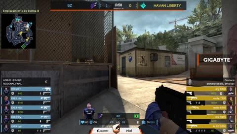 3k BIT contra Havan na Overpass   draft5.gg