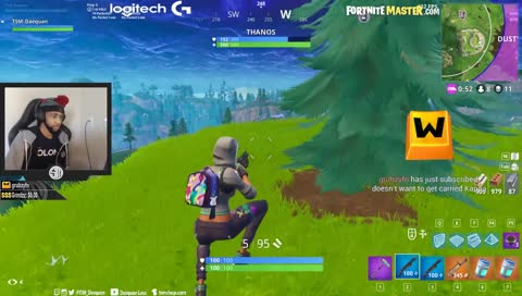 daequan thinks thanos is too easy tsm daequan fortnite - fortnite daequan