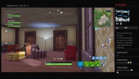 Squad wipe at tilted