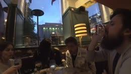 Soda in public restaurant