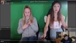 Greek Gets a Donation